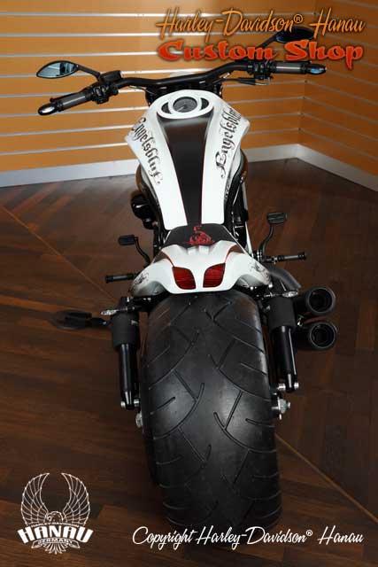 Night Rod Special Umbau Engelsblut Custombike durch Harley-Davidson Hanau