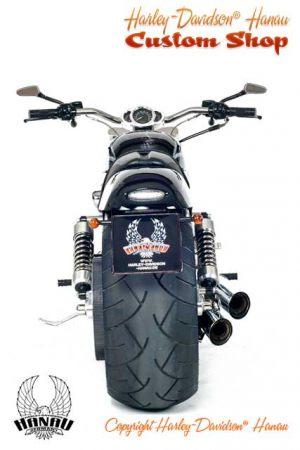 V-Rod Umbau zum Skull Custombike von Harley-Davidson Hanau